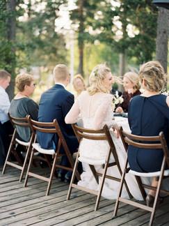 Organic garden wedding table setting   nordic, natural wedding design