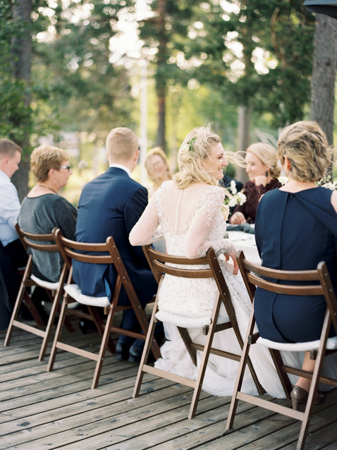 Organic garden wedding table setting | nordic, natural wedding design