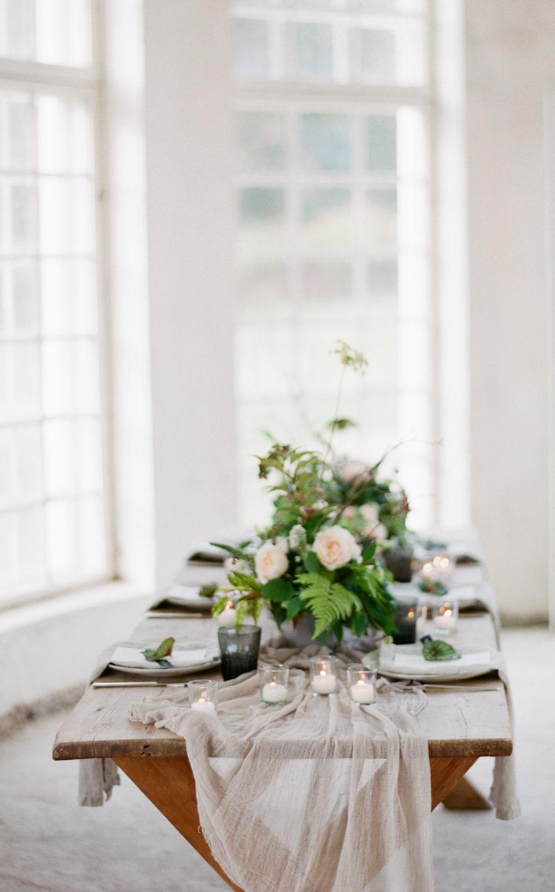 Organic wedding design Europe