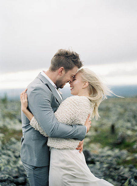 Lapland elopement | Lapland wedding plan