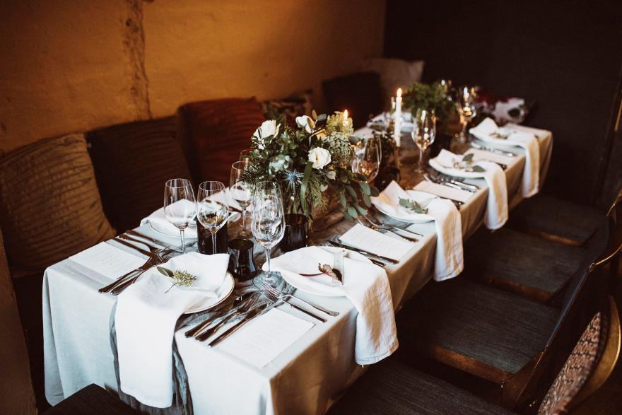 cosy organic wedding design