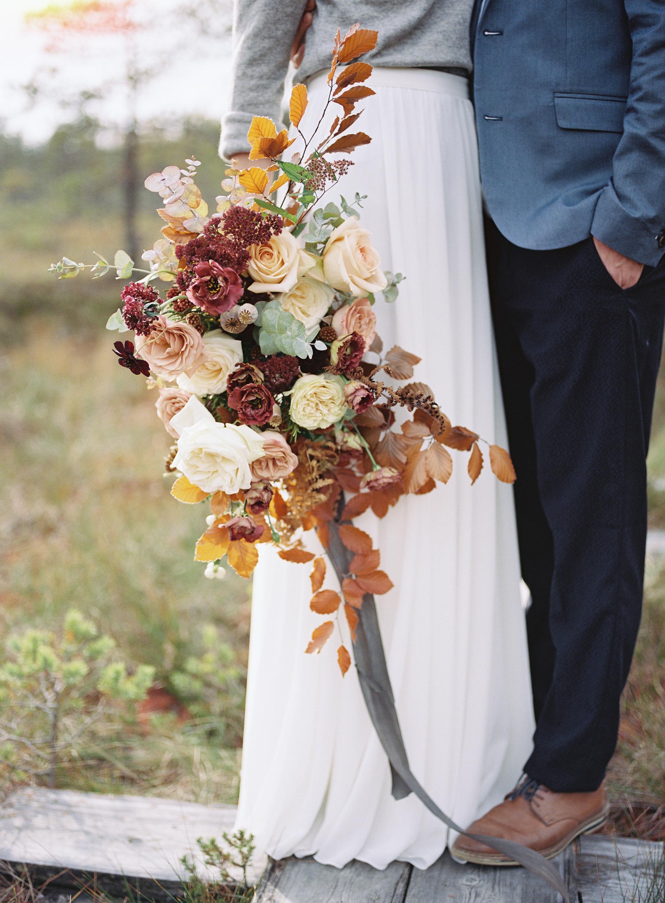 Fall wedding Finland Sweden