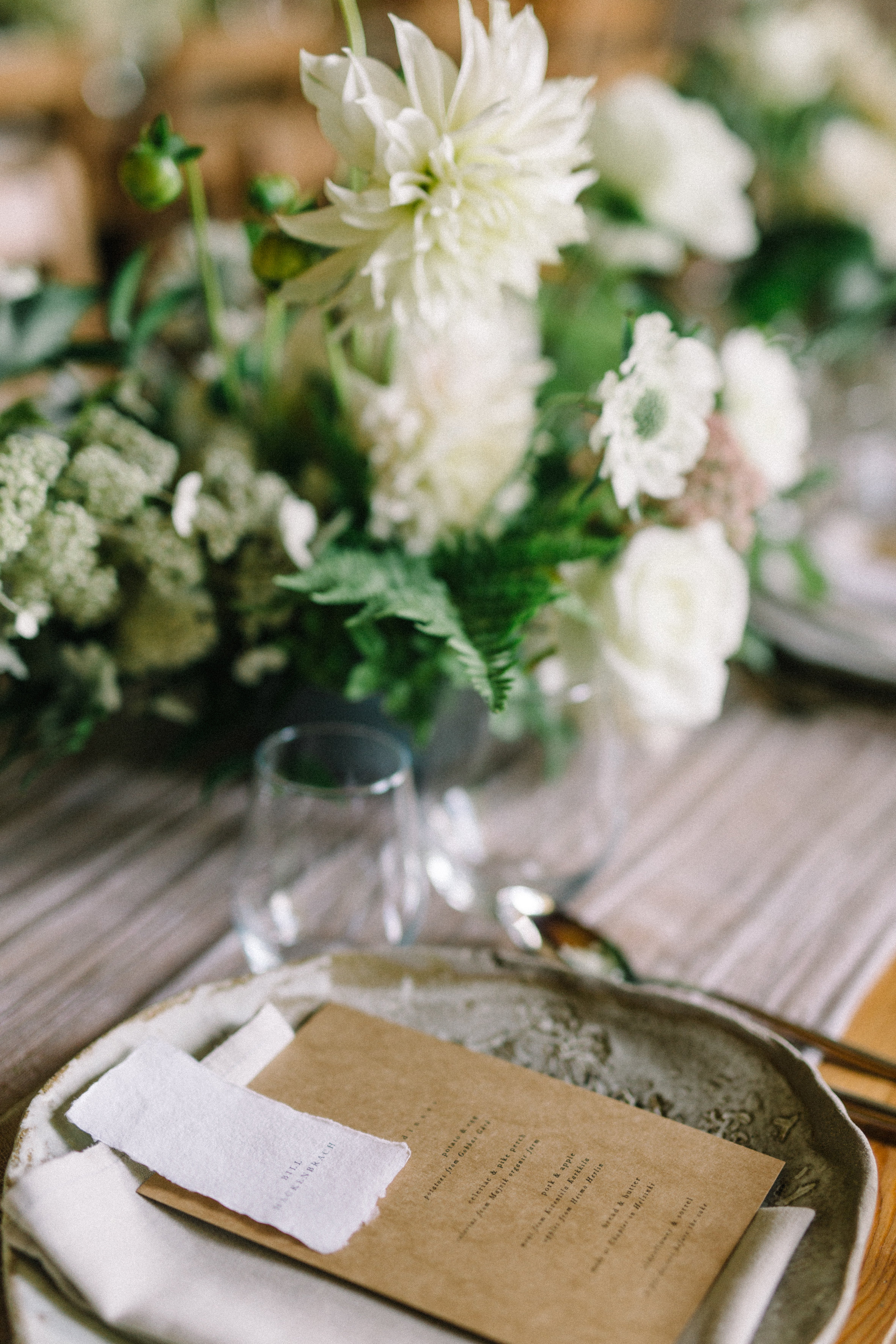 Organic wedding design Europe