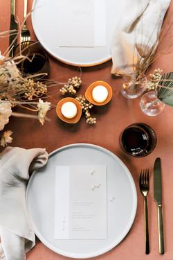 A modern organic loft wedding