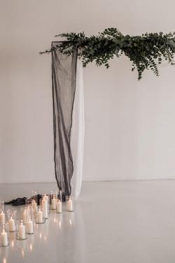 Minimalistic ceremony design