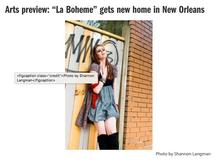 Concept Shoot for La Boheme Production with Soprano, Amanda