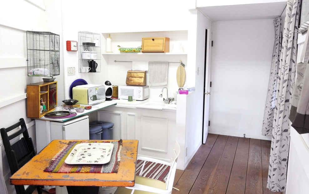 東条湖1スタジオ Kitchen