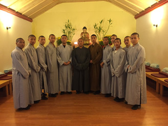 2016 The Shaolin Warrior monks come visited Shaolin Temple Cultural Center USA
