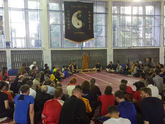 Shaolin Seminar in the Bratislava, Slovakia