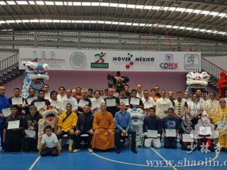Shaolin Master Shi Yanxu Invited to Give a Speech in Mexico City