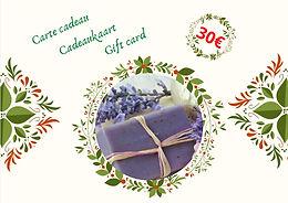 """Carte cadeau """"zéro déchet"""" - 30€"""