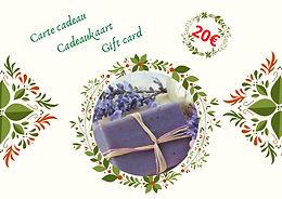"""Carte cadeau """"zéro déchet"""" - 20€"""