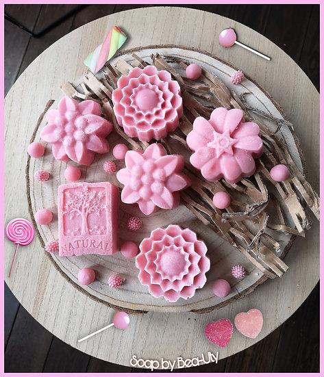Le parfait coco / argile rose (bonbons)