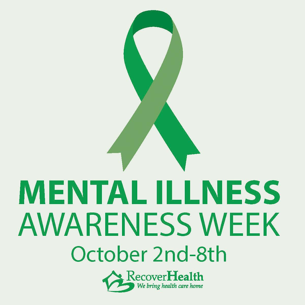 Mental Illness Awareness Week: October 2nd-8th.
