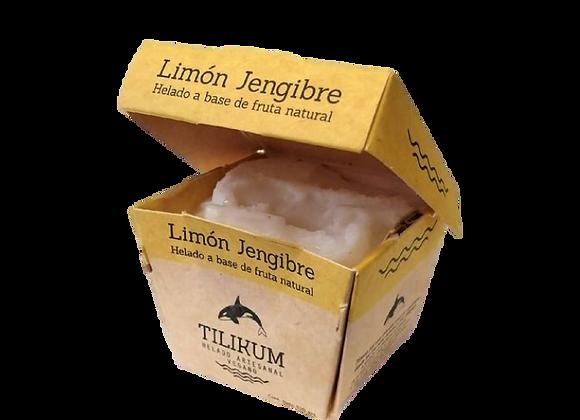 Helado sabor limón y jengibre 120g
