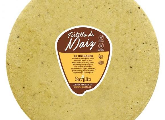Tortilla de Maíz para Wrap