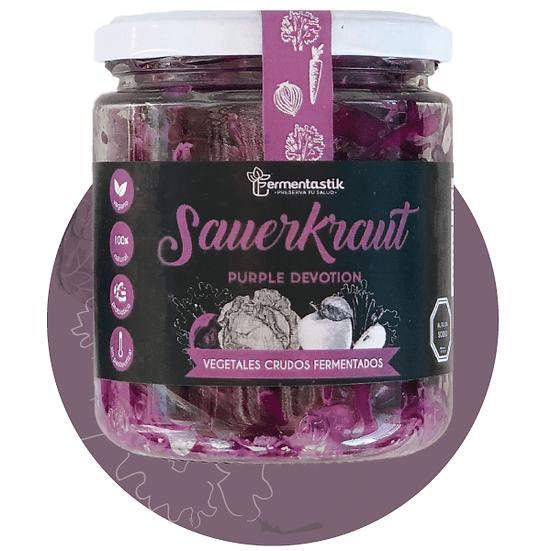 Sauerkraut de repollo morado Purple devotion Fermentastik 400g