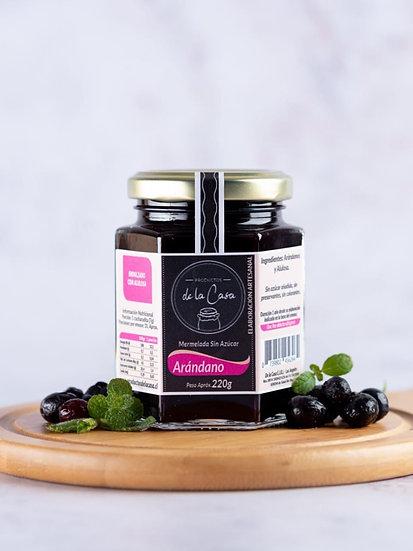 Mermelada artesanal de Arándano sin azúcar