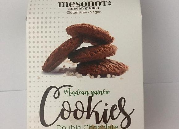 Galletas de Quinoa - Libres de gluten Sabor Doble Chocolate