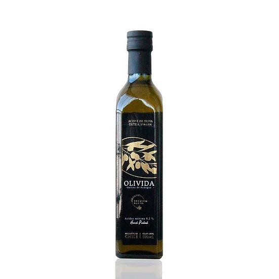 Aceite de oliva orgánico 500mL