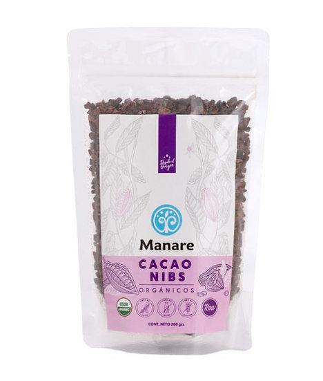 Nibs de cacao orgánico 200g