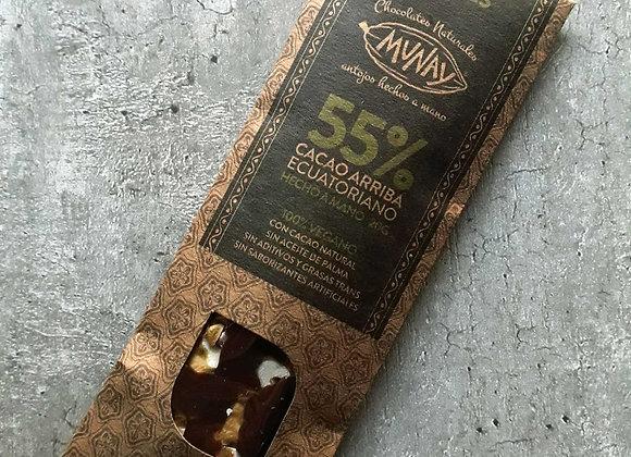 Chocolate 55% Cacao con nueces