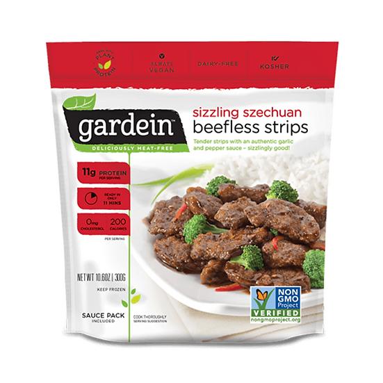 Filetes de carne (sucedáneo) - Szechuan Beefless Strips