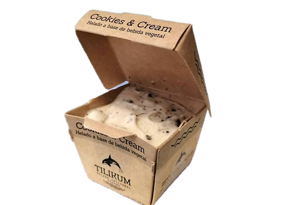 Helado sabor Cookies and cream 120g