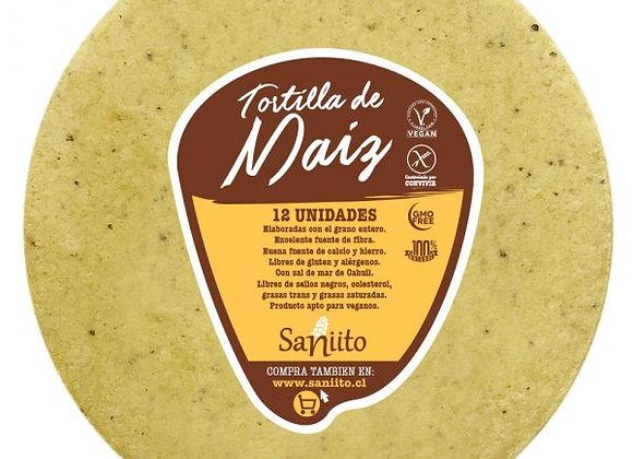 Tortilla de Maíz 17 cm
