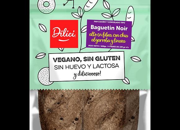 Pan Mini Baguetin Noir Sin Gluten