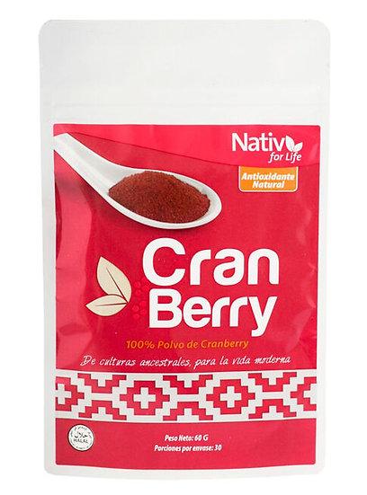 Cranberry en polvo 60g