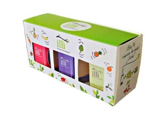 Pack 3 productos Illi Gourmet