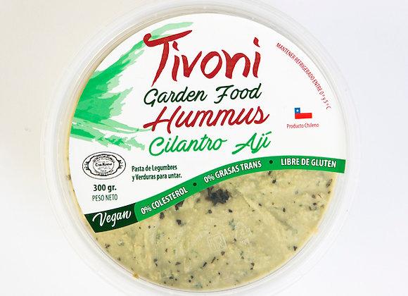 Hummus cilantro y ají 300g