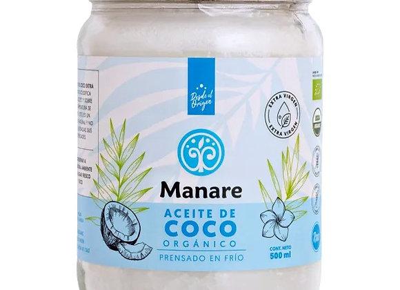 Aceite de coco orgánico 500 ml