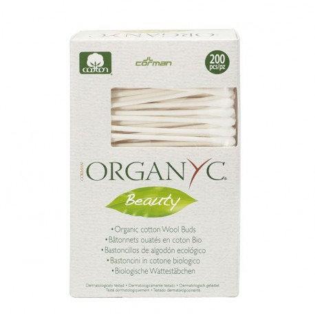Cotonitos de algodón orgánico