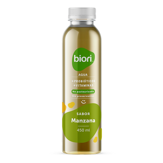 Agua probiótica | Manzana