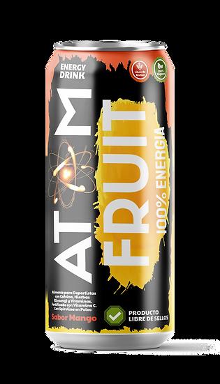 Bebida energética mango 250mL - Atom fruit