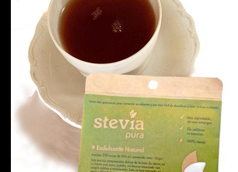 Stevia Pura en polvo (Endulza 200 tazas de té)
