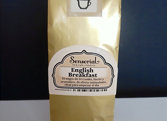 Té Negro English Breakfast en hoja 50g - Sensorial