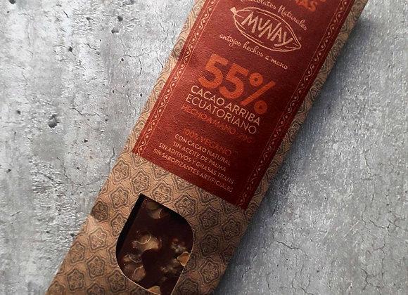 Chocolate 55% Cacao con avellanas