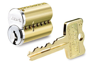 Interchangeable core and key