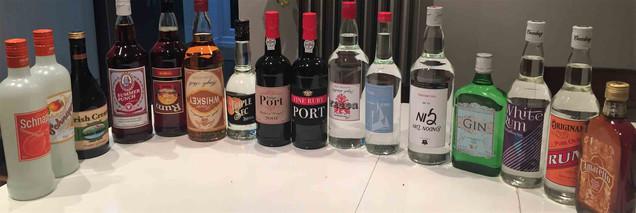 Spirit bottle Labels