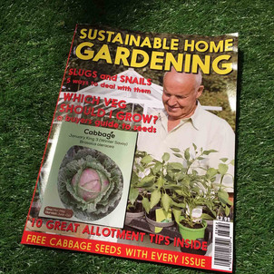 Gardening Magazine and seed packet