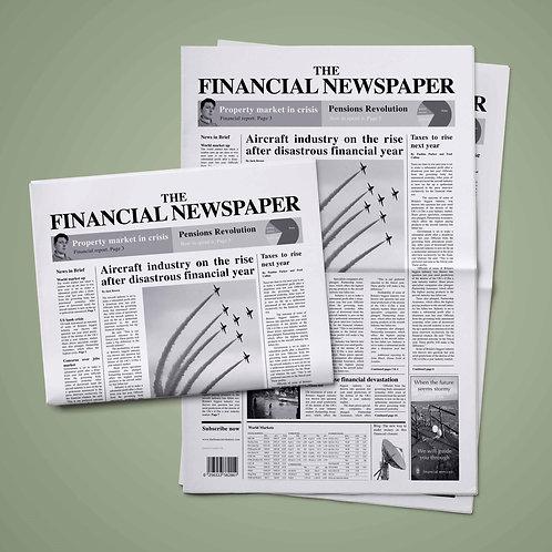 Financial/Business Newspaper