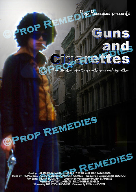 Guns and Cigarettes film Poster