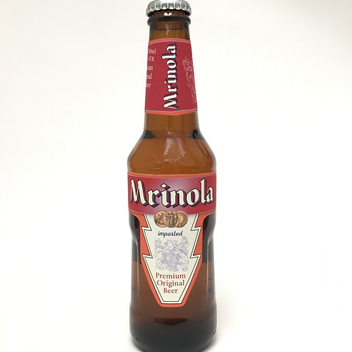Imported beer label