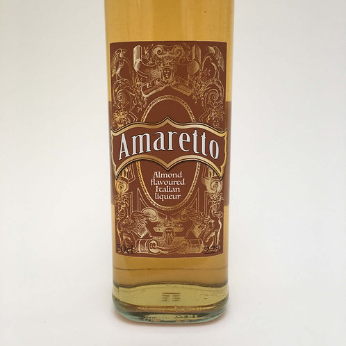 Amaretto bottle Label
