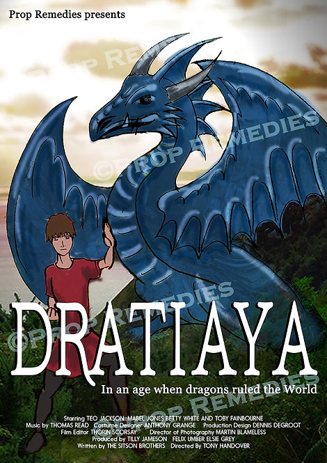 Dragon film poster