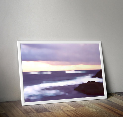 Out to sea print