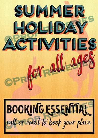 Summer activites Poster
